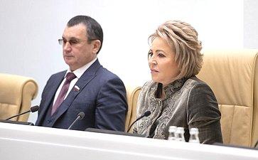Николай Федоров иВалентина Матвиенко