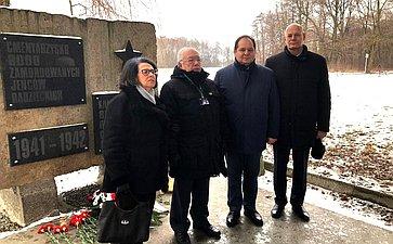 Делегация Совета Федерации приняла участие вмероприятиях, приуроченных кМеждународному дню памяти жертв Холокоста