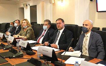 Состоялось совместное заседание Комитета СФ помеждународным делам иКомиссии поиностранным делам ивопросам миграции Сената Итальянской Республики