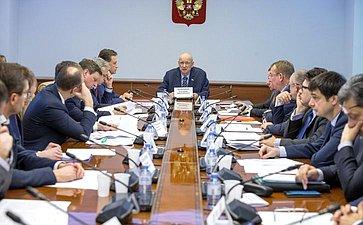 Совещание Комитета СФ побюджету ифинансовым рынкам повопросам налогооблажения драгоценных металлов идрагоценных камней