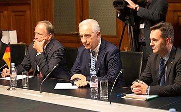 Председатель Совета Федерации Валентина Матвиенко провела встречу сПрезидентом Бундесрата Федеративной Республики Германия Станиславом Тиллихом