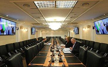 Сенаторы РФ приняли участие взаседании постоянной комиссии МПА СНГ понауке иобразованию