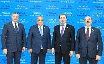 Делегация Совета Федерации принимает участие внаблюдении запроведением выборов депутатов Мажилиса Парламента Республики Казахстан