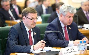 К. Косачев иВ. Бондарев