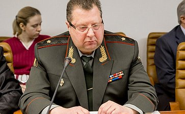 Заседание Экспертного совета на тему «О нормативно-правовом обеспечении призыва граждан Российской Федерации на военную службу и мерах по его совершенствованию»