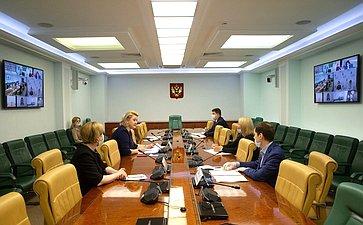 Видеоконференция Комитета СФ понауке, образованию икультуре спредставителями субъектов РФ