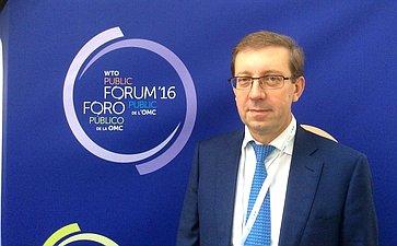 А.Майоров: Мировая торговля должна стать открытой иинклюзивной