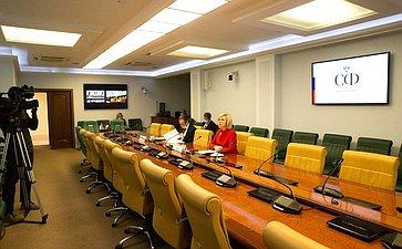 Заседание рабочей группы попарламентскому контролю заобеспечением бесплатным горячим питанием учеников начальных классов