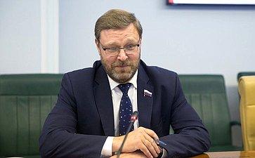 Senator Kosachev: Parliamentary component ofinternational relations is indemand attheUN andintoday's world ingeneral