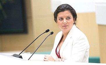 Глава телеканала RT М. Симоньян