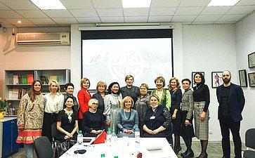 Сенаторы приняли участие воткрытии Московского Арктического женского клуба
