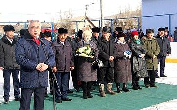 Баир Жамсуев принял участие воткрытии соревнований, приуроченных коДню защитника Отечества