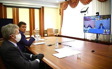 Заседании Рабочей группы порассмотрению годового отчета Банка России за2019год сучастием Председателя Центрального банка Э.Набиуллиной