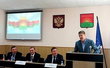 Андрей Шевченко входе поездки врегион принял участие всовещаниях, посвященных организации ипроведению весенне-полевых работ в2021году