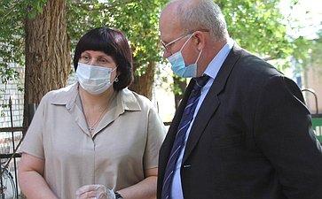 Сенатор Елена Афанасьева срабочим визитом побывала вКраснохолме