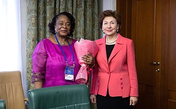 Встреча сПредседателем Сената Экваториальной Гвинеи