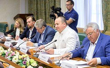 Заседание Президиума Экспертного совета пофизической культуре испорту при Комитете СФ сучастием руководителей рабочих групп