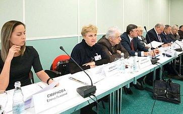 Заседание Экспертно-консультативного совета полесному комплексу при Комитете СФ поаграрно-продовольственной политике иприродопользованию