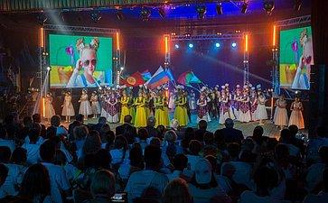 Торжественный гала-концерт послучаю закрытия Международного культурно-образовательного форума стран СНГ «Дети Содружества»