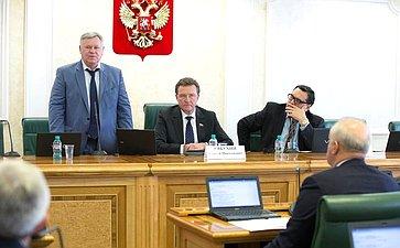 Заседание Комитета СФ побюджету ифинансовым рынкам. В. Петров