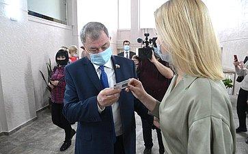 Анатолий Артамонов открыл вКалуге «Губернаторскую библиотеку»