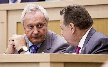 Виталий Игнатенко на 358 заседании Совета Федерации