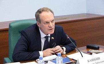 А. Башкин провел рабочую встречу спредставителями Министерства внутренних дел