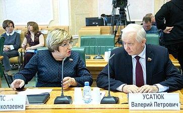 Ольга Хохлова иВалерий Усатюк
