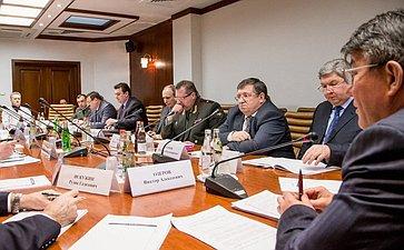Заседание Экспертного совета на тему «О нормативно-правовом обеспечении призыва граждан Российской Федерации на военную службу и мерах по его совершенствованию».