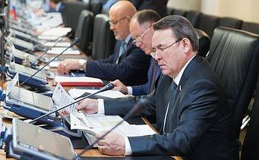 Встреча группы по сотрудничеству Совета Федерации с Сенатом Французской Республики с парламентской делегацией Франции