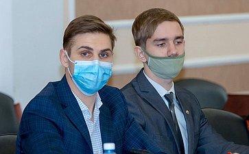 Заседание Совета Молодёжной палаты при Парламентском Собрании Союза Беларуси иРоссии иМолодежного парламента Оренбургской области