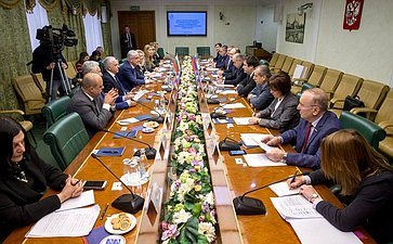 Встреча Ильяса Умаханова c заместителем Председателя народного Собрания Республики Болгарии Явором Нотевым