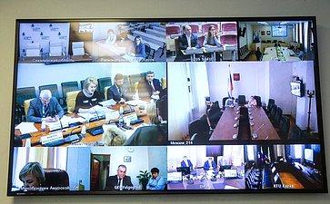 Видеоконференция, посвященная анализу потребности субъектов РФ вподготовке педагогических, медицинских иинженерных кадров