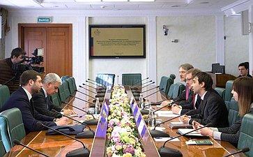 Встреча Константина Косачева сдепутатом Европейского Парламента Стефано Мауллу
