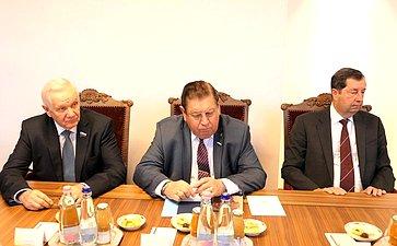 Встреча делегации Совета Федерации сзаместителем Премьер-министра Венгрии Жолтом Шемьеном