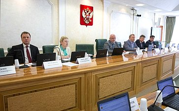 Заседание Комитета Совета Федерации поконституционному законодательству игосударственному строительству