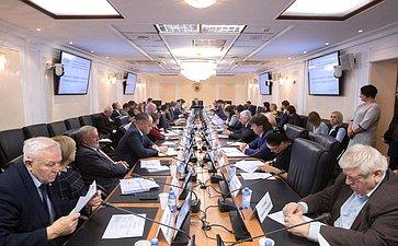 Совещание Комитета СФ поаграрно-продовольственной политике иприродопользованию повопросам подготовки кпроведению IV Всероссийского водного конгресса