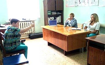 Людмила Бокова провела личные приемы граждан всельских поселениях