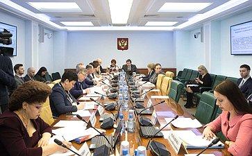 Заседание Комитета СФ посоцполитике сучастием представителей Бурятии