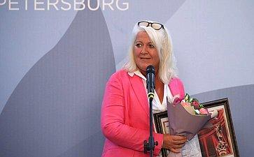 Церемония награждения лауреатов премии Второго Евразийского женского форума «Общественное признание– 2018»