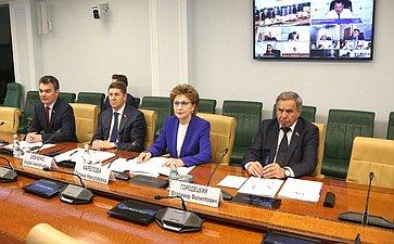 Заседание Совета повопросам жилищного строительства исодействия развитию ЖКХ при СФ