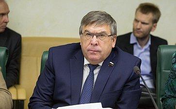 В. Рязанский Заседание Комитета общественной поддержки жителей Юго-Востока Украины