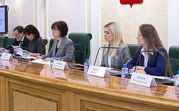 Круглый стол Комитета посоциальной политике совместно Палатой молодых законодателей