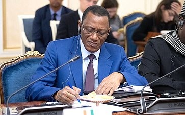 Встреча сенаторов спослами африканских стран вРоссии