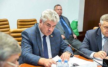 Заседание Комитета Совета Федерации пообороне ибезопасности