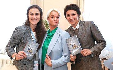 Врамках Второго Евразийского Женского Форума состоялся деловой завтрак «Женщины вспорте»