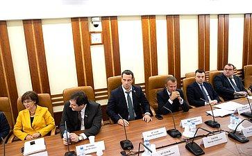 Заседание временной комиссии СФ посовершенствованию правового регулирования всфере государственного контроля (надзора) имуниципального контроля вРФ