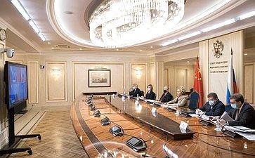VI заседание Межпарламентской комиссии посотрудничеству между Федеральным Собранием РФ иВсекитайским собранием народных представителей КНР