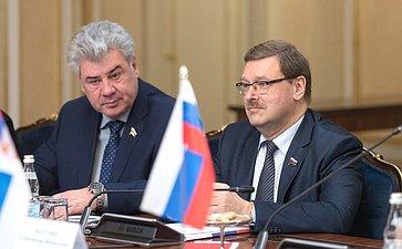 Встреча Председателя СФ В.Матвиенко сПрезидентом Сербии А.Вучичем