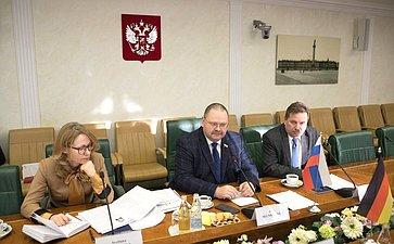 Встреча О.Мельниченко сдепутатом Бундестага, членом правления Германо-Российского Форума Бернхардом Кастером